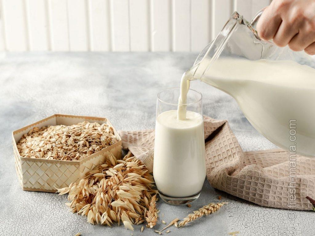 Универсальное овсяное молоко