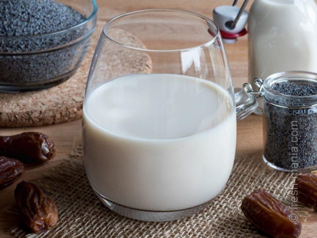Вкусное маковое молоко обладает многими полезными свойствами