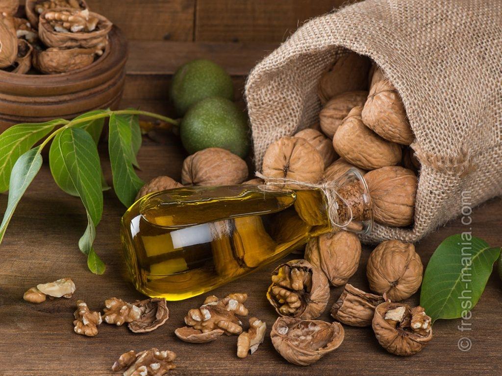 Ореховое масло – очень полезно для женщин