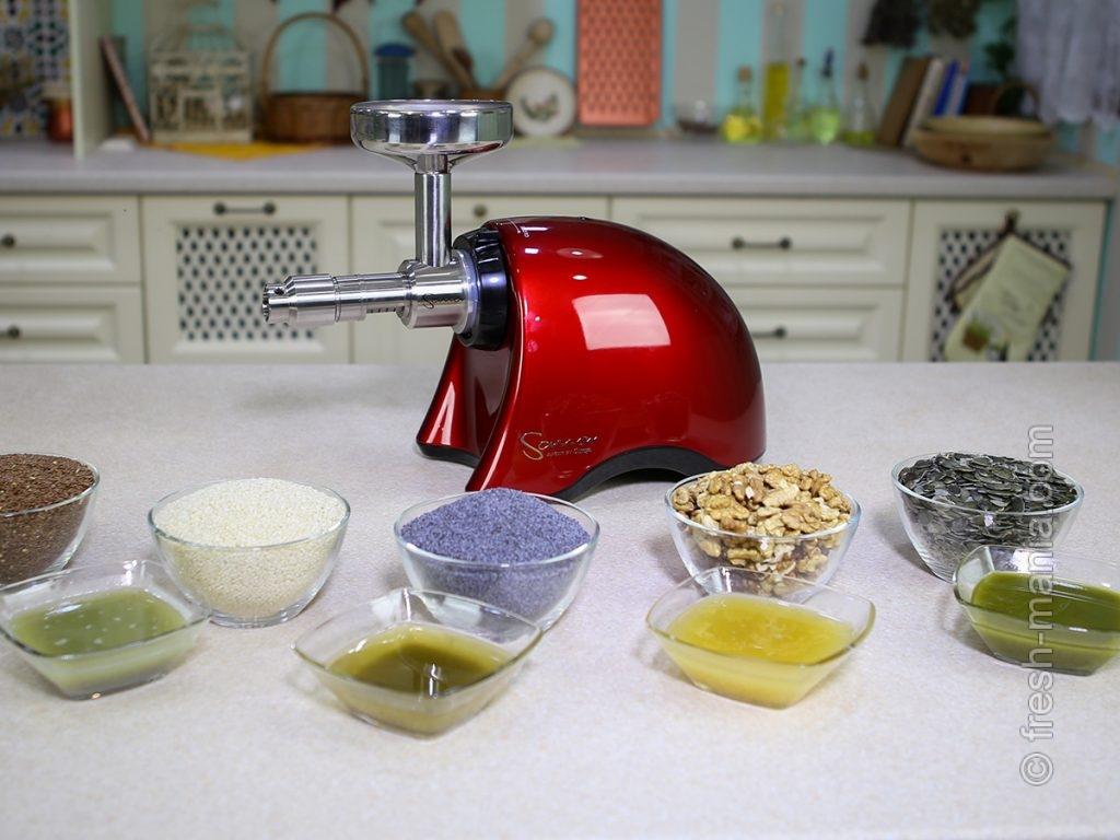 Приготовление сыродавленных масел в домашних условиях