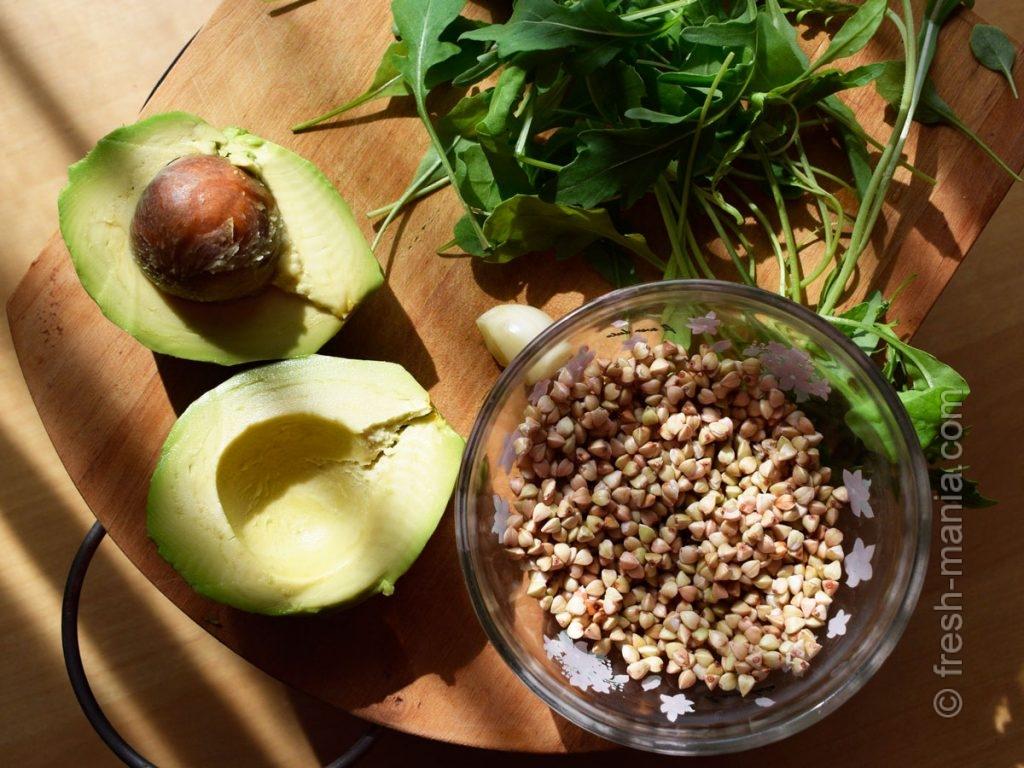 Набор зеленых ингредиентов