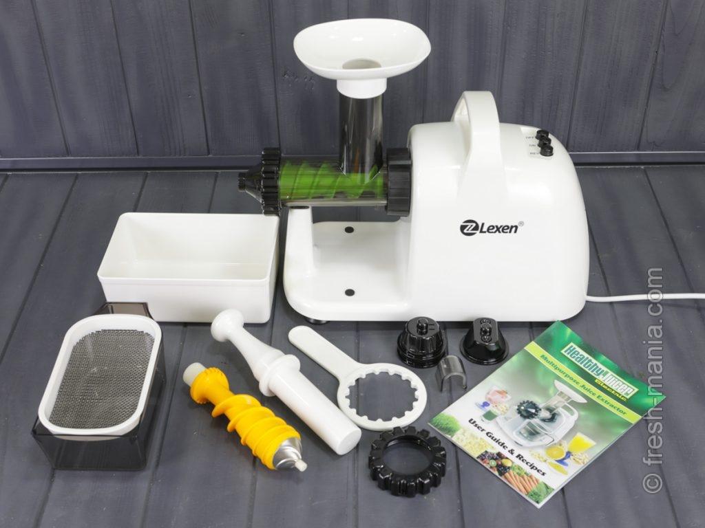Комплектация Healthy Juicer Electric