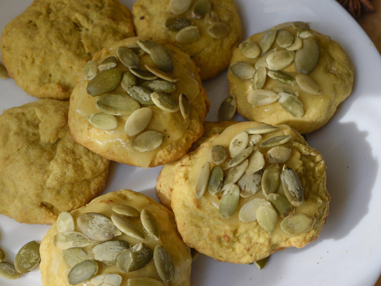 Тыквенное печенье из цельнозерновой муки