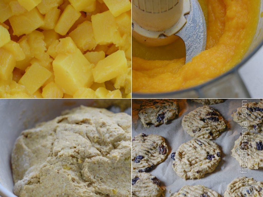 Приготовление тыквенного печенья
