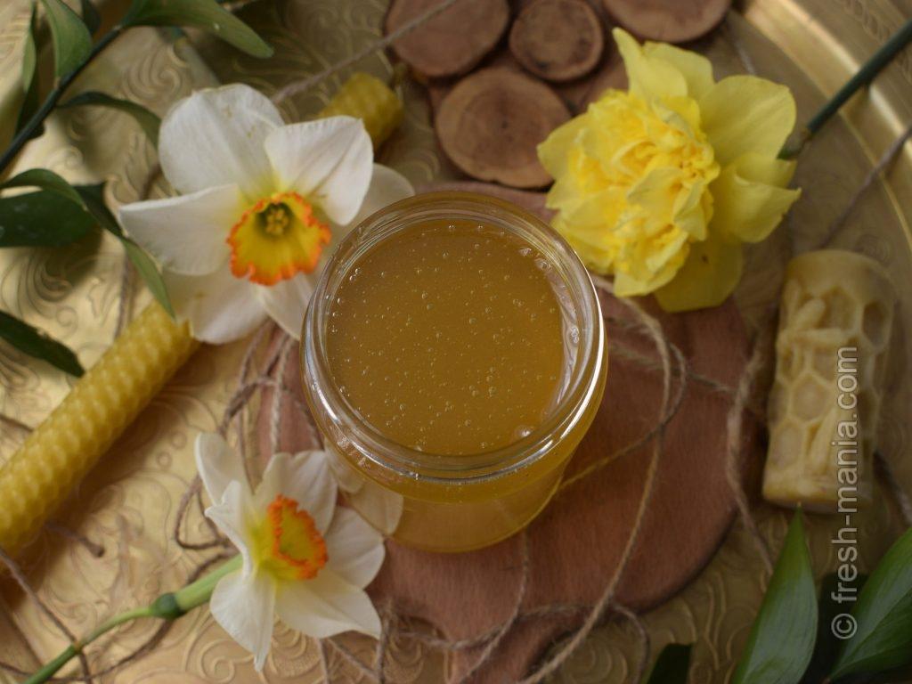 Мед – полезное для микрофлоры лакомство