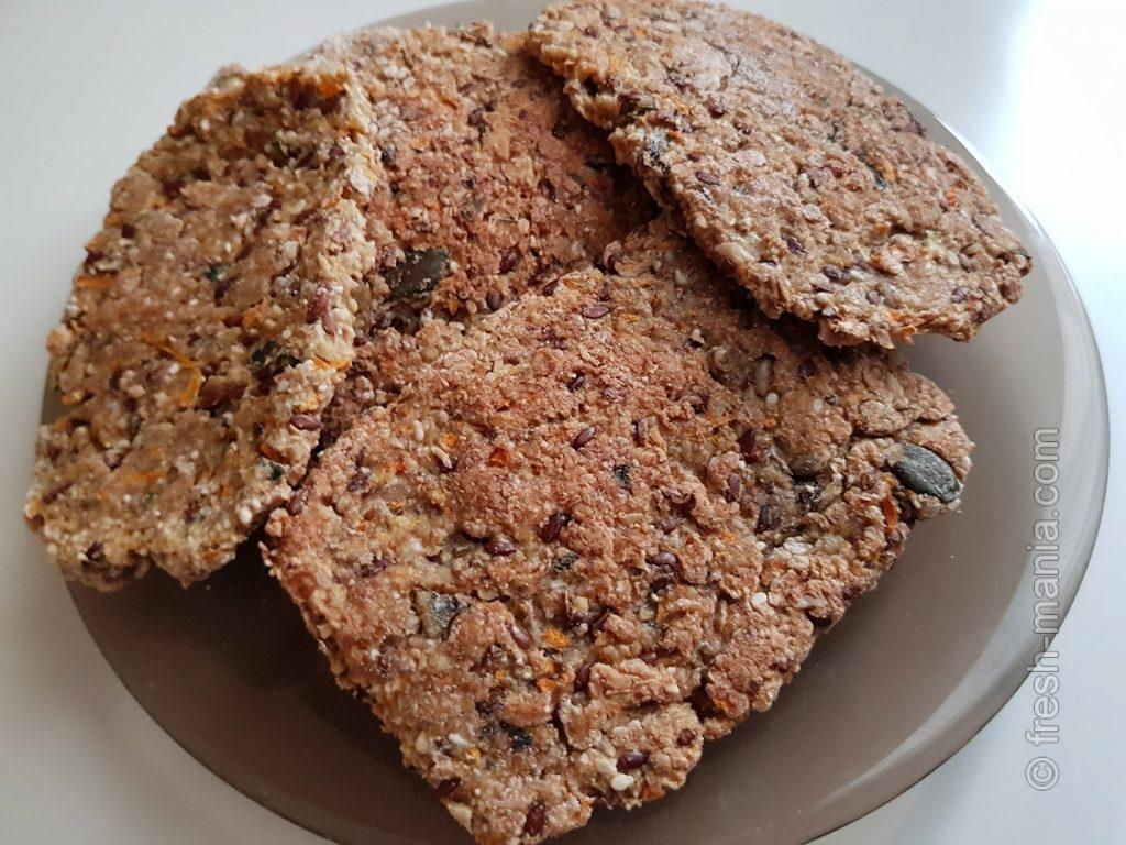 Ароматные хлебцы – полезный перекус