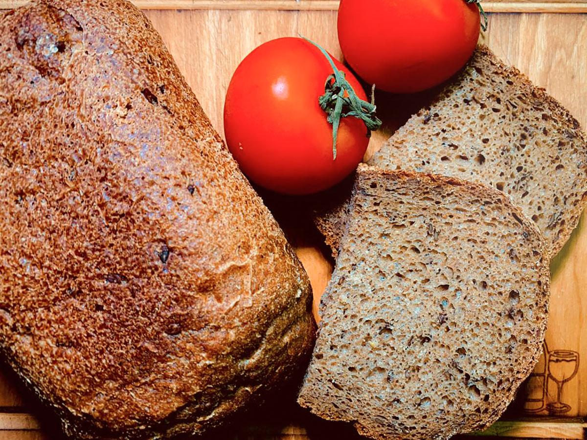 Гречнево-ржаной хлеб со льном (рецепт для хлебопечки SANA)