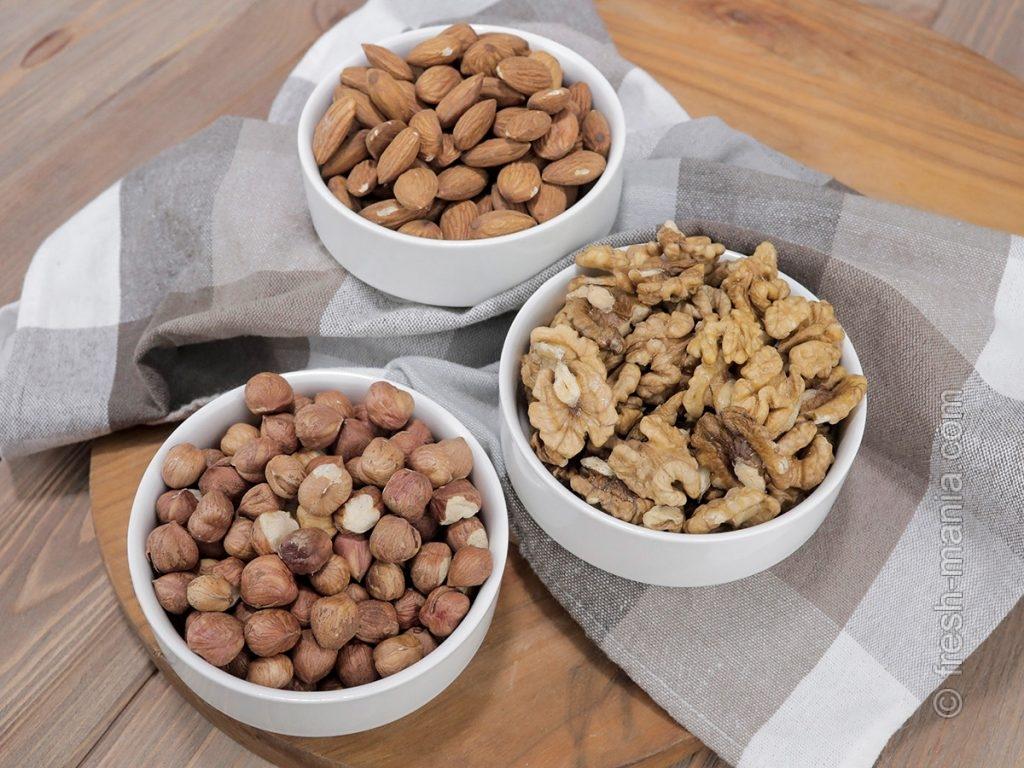 Орехи – источник цинка, железа, белков и полезных жиров