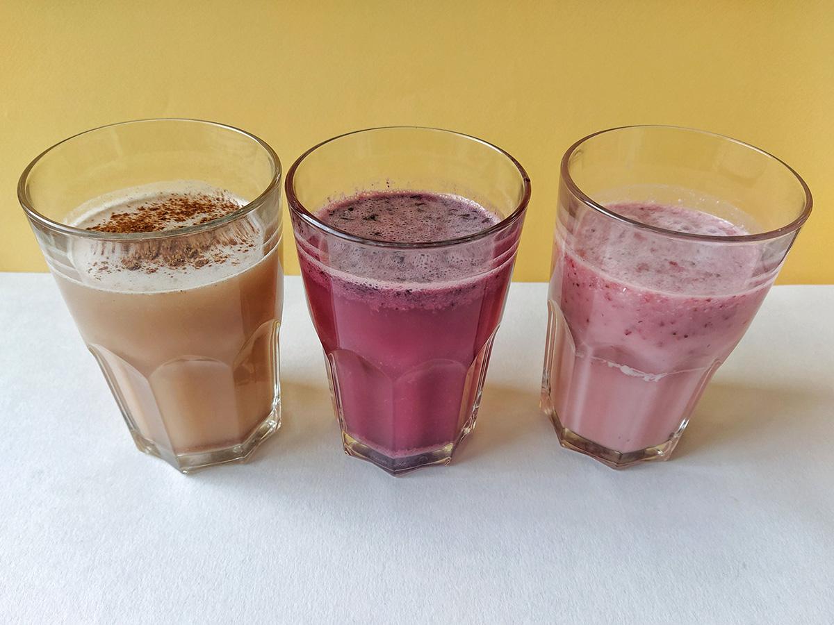 Смузи вместо завтрака (3 питательных рецепта)