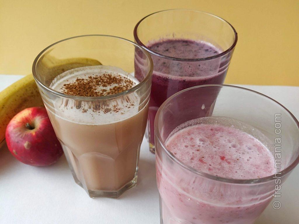 3 варианта питательных смузи