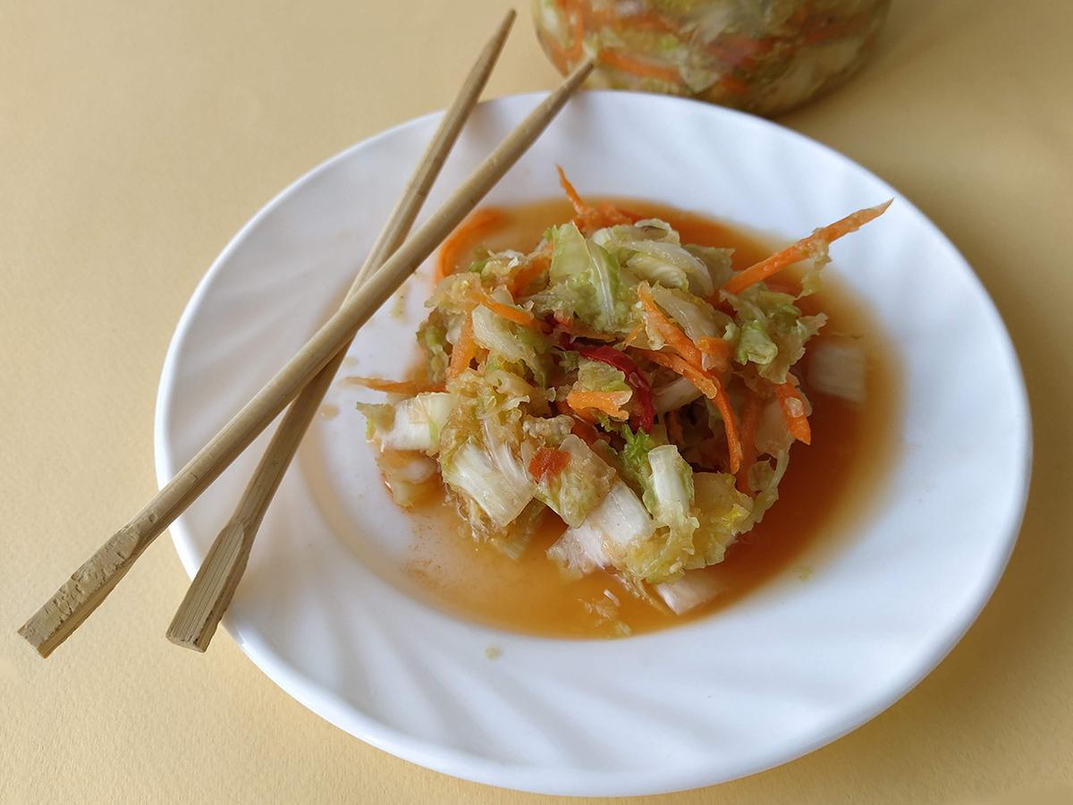 Натуральный пробиотик. Рецепт кимчи из пекинской капусты