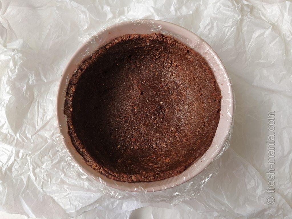 Основа шоколадного тарта