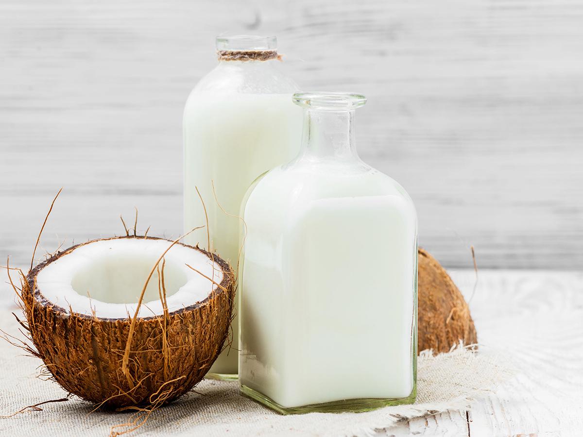 Кокосовые сливки – ценный растительный белок