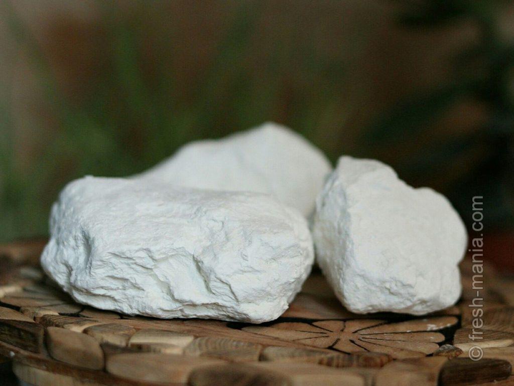 Белая глина – мощный адсорбент и детоксикатор