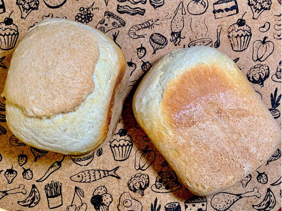 Французская булка на закваске в хлебопечке SANA