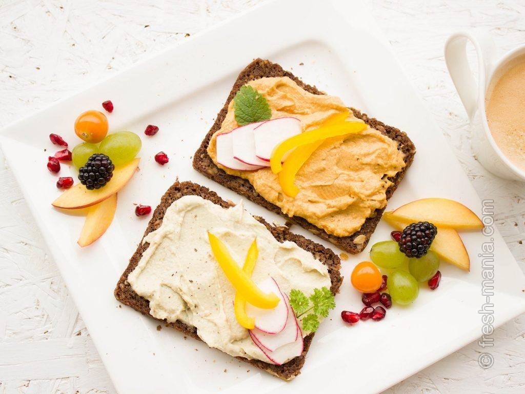 Великолепная закуска из растительных ингредиентов