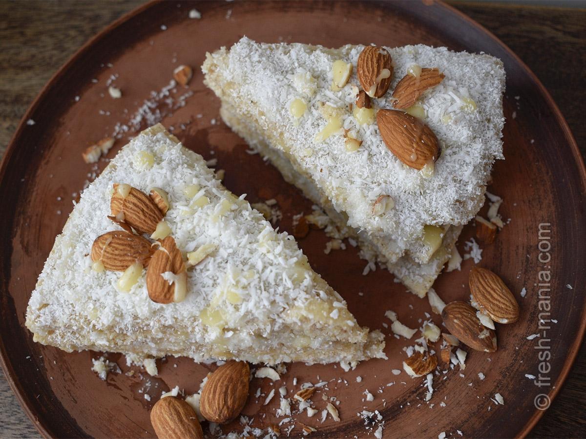 Веганский кокосовый торт – потрясающий ПП-рецепт