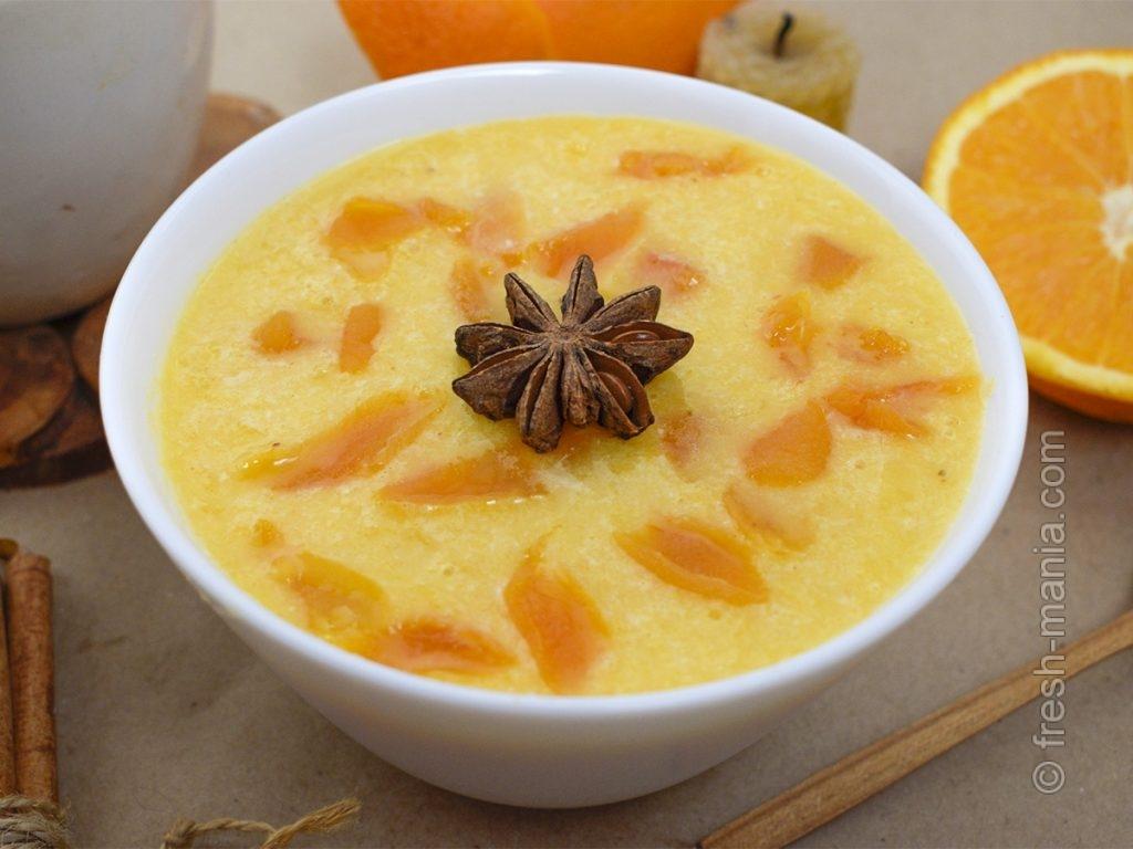 Солнечный апельсиновый мед с курагой
