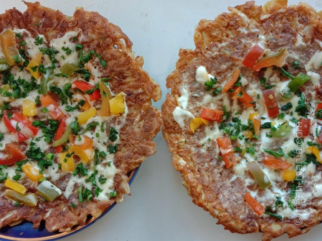 Капустная пицца