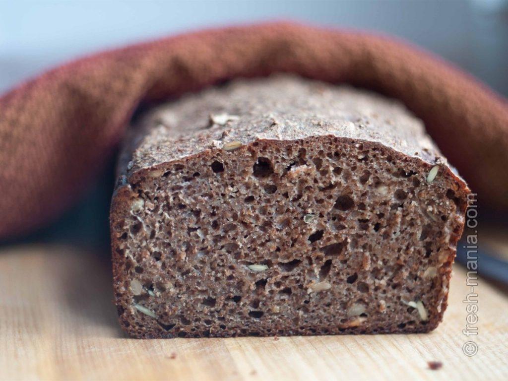 Домашний хлеб на закваске – в каждый дом!