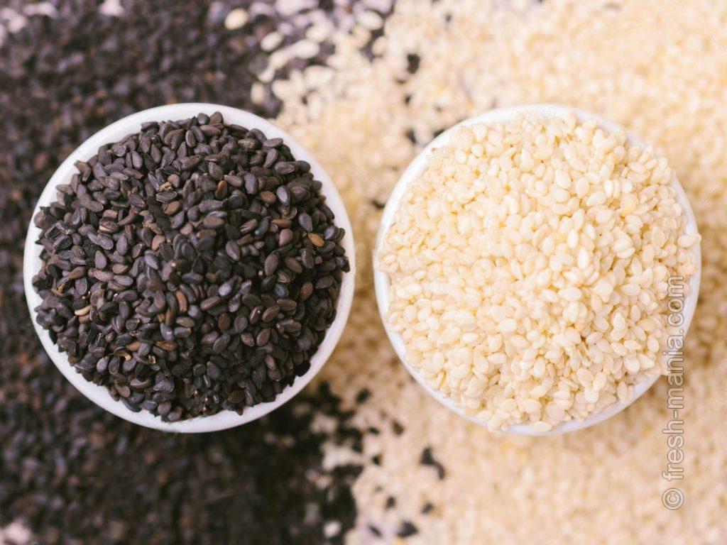 Кунжут – источник белка и кальция