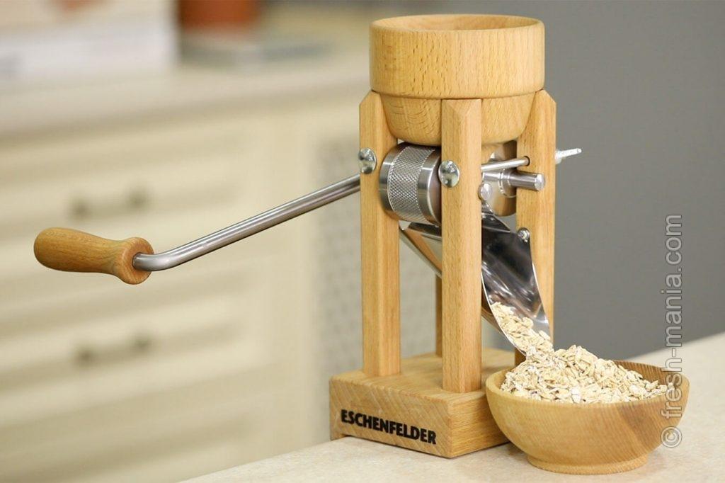 Вот так выглядит устройство для приготовления хлопьев