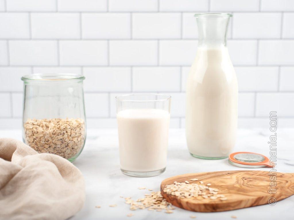 Самое качественное овсяное молоко – домашнее