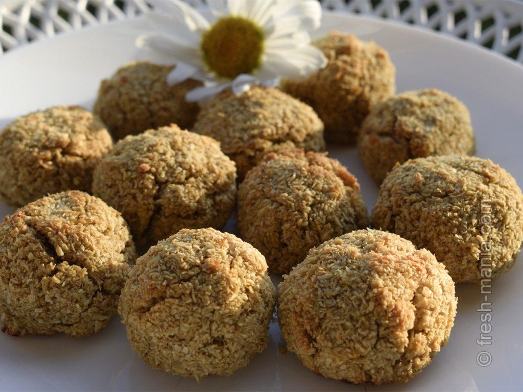 Форма шариков – для большей воздушности и рассыпчатости печенья