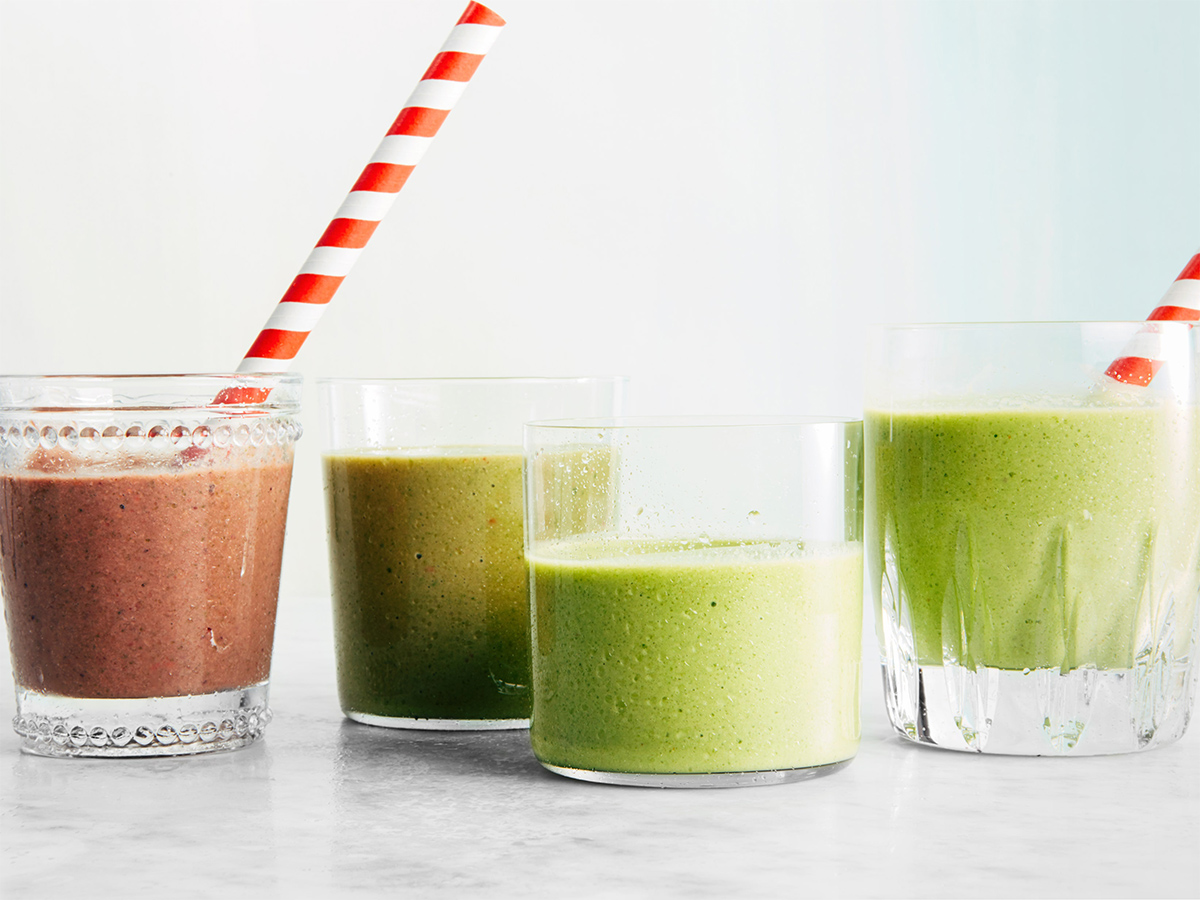 Рецепты смузи и соков, которые преобразят хмурое утро