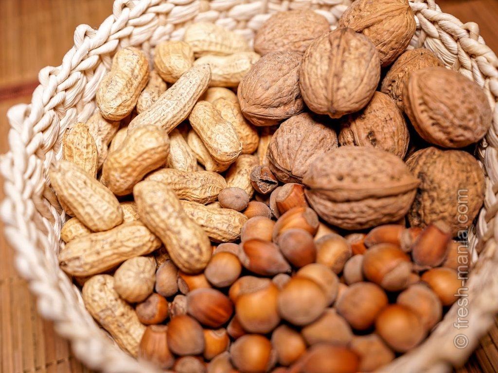 Орехи – для энергии и хорошего настроения