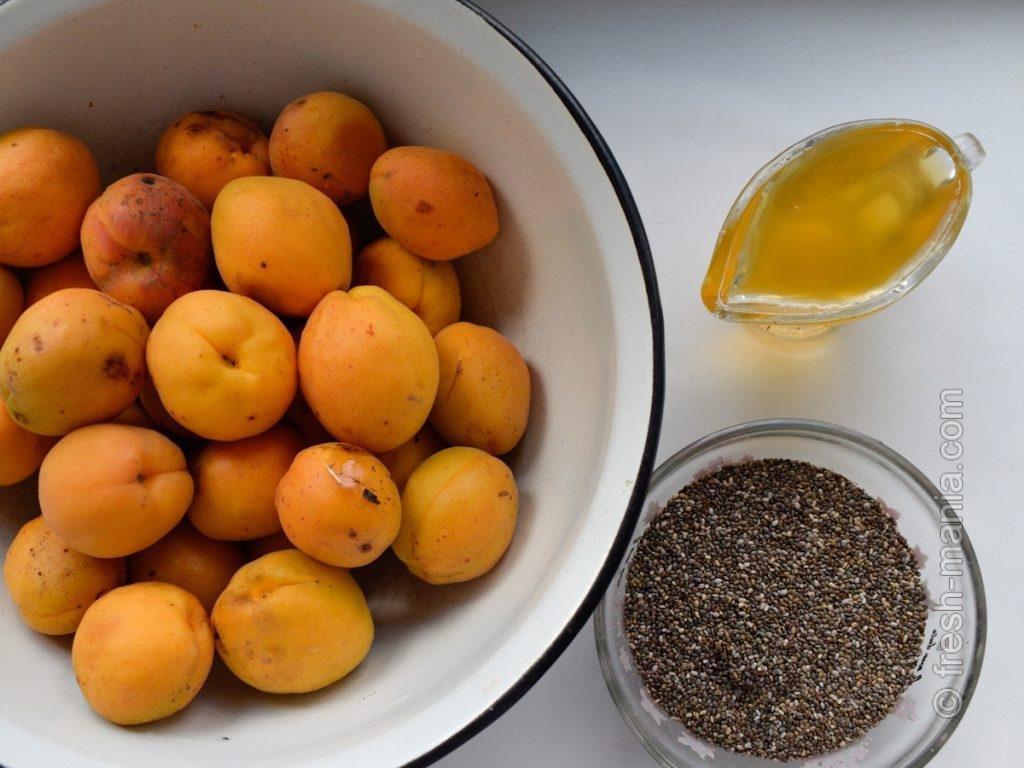 Ингредиенты для солнечного джема