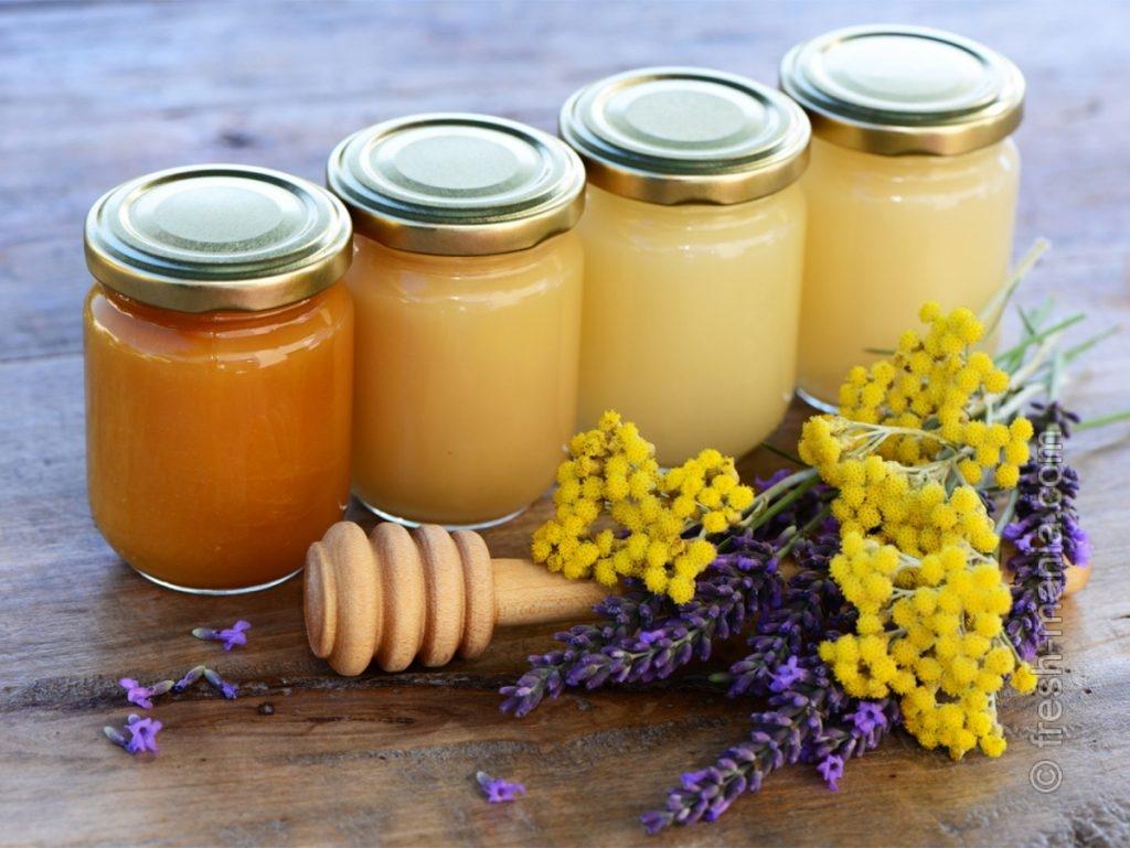 Мед препятствует размножению бактерий