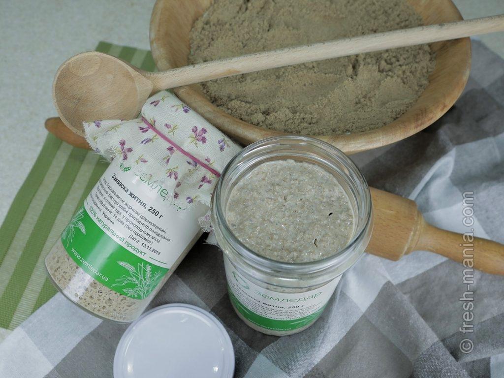 Ржаная закваска содержит уникальные полезные бактерии