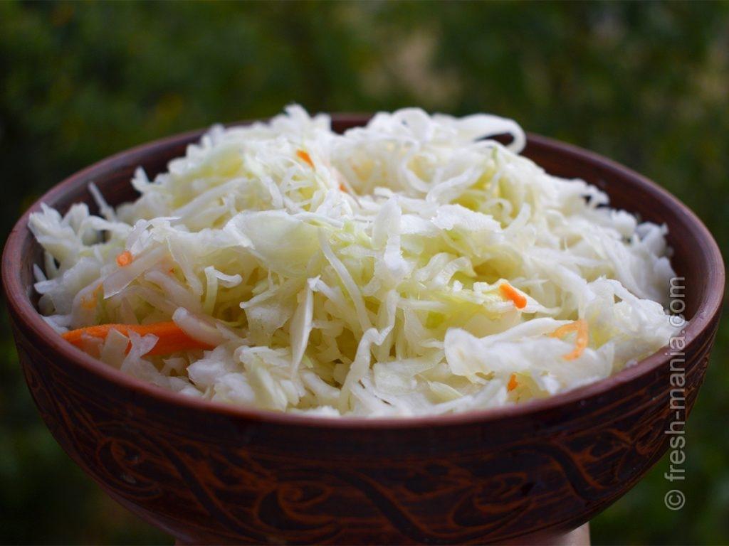 Квашеная капуста – одно из самых популярных ферментированных блюд