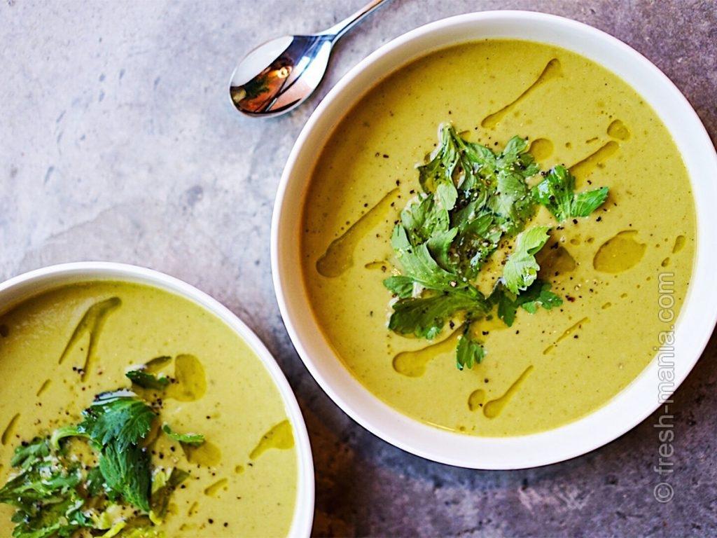 Супы с капустой и листовыми овощами – вкусный вариант употребления зелени