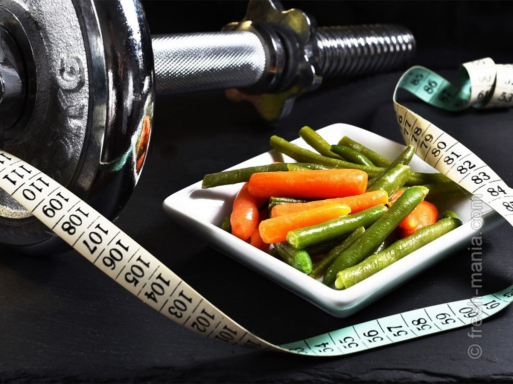 Эффект от спорта усиливается правильным питанием