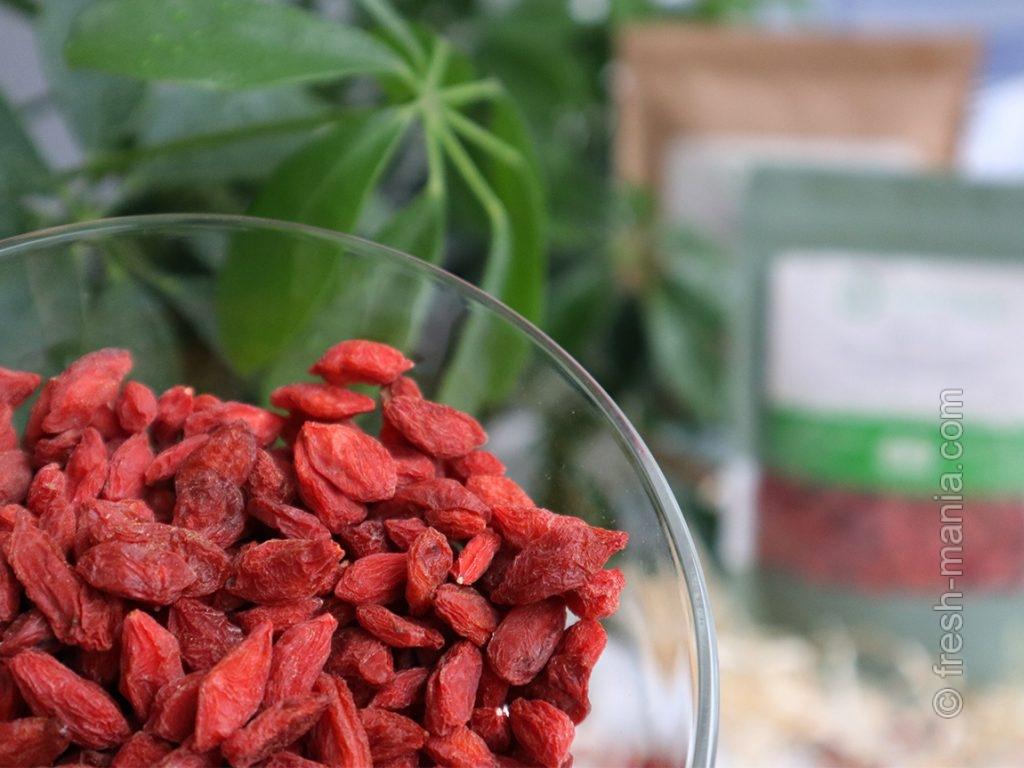 Годжи известны как лекарственное средство в китайской медицине