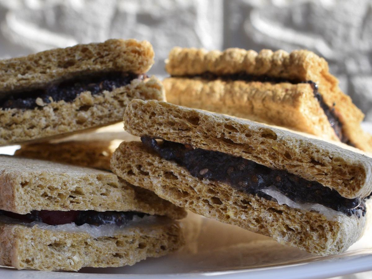 Печенье без выпечки из хлебцов